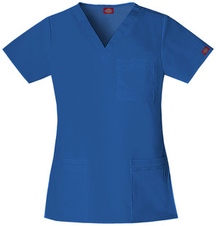 """Youtility"" V-Neck Top-Dickies Medical"
