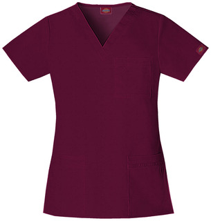 """""""Youtility"""" V-Neck Top-Dickies"""