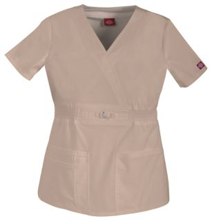 82880 Mock Wrap Top-Dickies