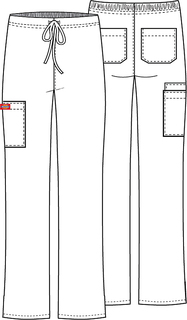 83060 Unisex Drawstring Cargo Pant-Dickies