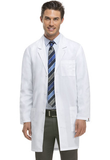 "Dickies EDS 37"" Unisex White Lab Coat-83402-Dickies"