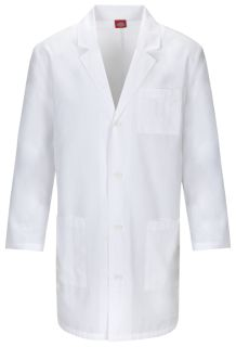 "Dickies 37"" Unisex Lab Coat - Antimicrobial w/Fluid Barrier-Dickies"