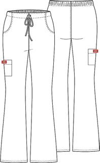 Mid-Rise Drawstring Cargo Pant-Dickies