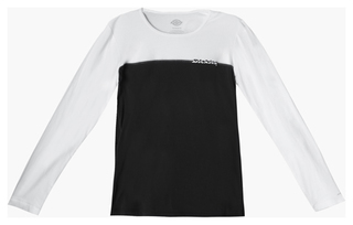 Long Sleeve Crew Neck Screen Printed Tee-Dickies Medical