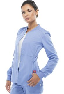 85304A Snap Front Warm-up Jacket