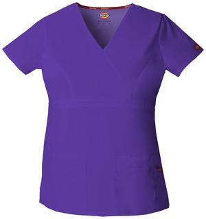85820 Mock Wrap Top-Dickies Medical
