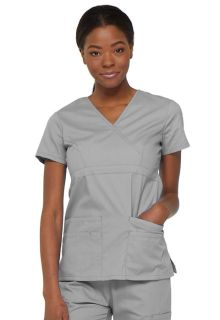 85820 Mock Wrap Top-Dickies