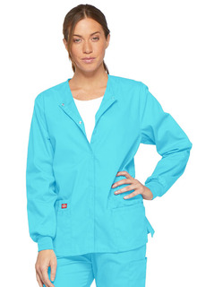 86306 Snap Front Warm-Up Jacket