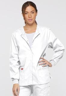 Dickies Signature Ladies Snap Front Multi-Pocket Warm-Up Jacket - 86306-