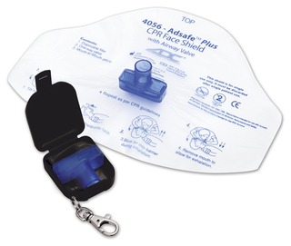 Adsafe Face Shield Plus w/keychain-