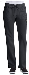 Careisma Charming Certainty Antimicrobial Low Rise Straight Leg Drawstring Scrub Pant-Careisma