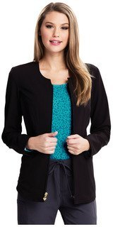 Careisma Fearless Zip Front Scrub Jacket