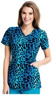 CA601X3 V-Neck Top-Careisma