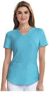 CA610A Mock Wrap Top-Careisma