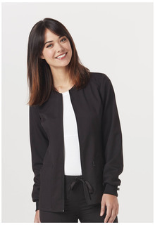 CH312A Zip Front Warm-Up Jacket-Code Happy
