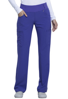 Mid Rise Straight Leg Pull-on Pant-Cherokee Uniforms