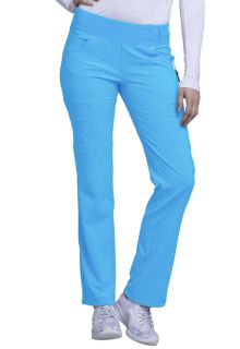 Mid Rise Straight Leg Pull-on Pant-Cherokee Uniforms