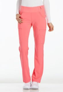 Mid Rise Straight Leg Pull-on Pant-