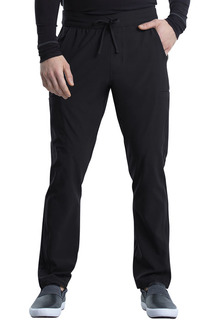 Mens Tapered Leg Drawstring Cargo Pant-Cherokee Uniforms
