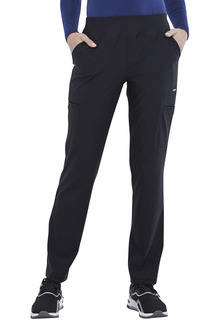 Mid Rise Slim Straight Pull-on Pant-Cherokee Medical