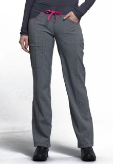 CK030A Low Rise Straight Leg Drawstring Pant-Cherokee Medical