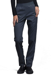 Luxe Natural-Rise Tapered Leg Pant - CK040-Cherokee Medical
