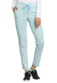 Mid Rise Straight Leg Drawstring Pants-Cherokee Uniforms