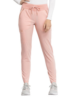 Mid Rise Straight Leg Drawstring Pants-