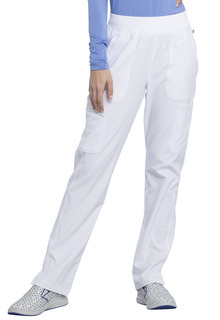 Mid Rise Tapered Leg Pull-on Pant-Cherokee Infinity
