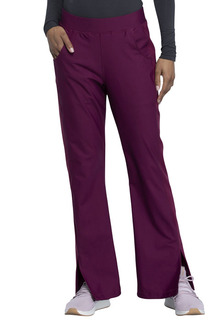 FORM - Mid Rise Moderate Flare Leg Pull-on Pant-Cherokee Medical