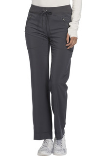 CK100A Mid Rise Tapered Leg Drawstring Pants-