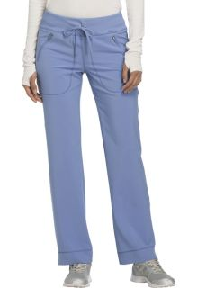 CK100A Mid Rise Tapered Leg Drawstring Pants-Cherokee Medical