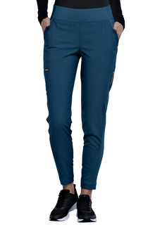 Mid-Rise Tapered Leg Pull-on Pant-