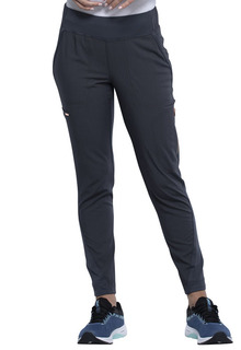 Cherokee Medical Medical Statement by Cherokee Mid-Rise Tapered Leg Pull-on Pant-Cherokee Medical