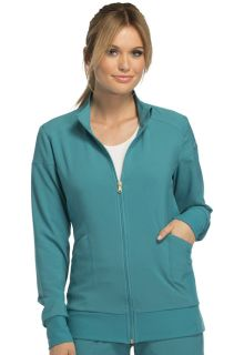 Cherokee 2 Pocket Zip Front Warm-Up Scrub Jacket-Cherokee Medical