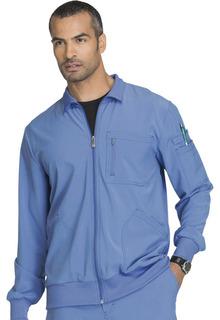 Mens Zip Front Jacket-Cherokee Medical