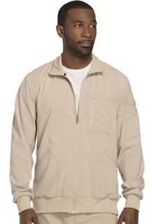 Mens Zip Front Jacket-Cherokee Medical
