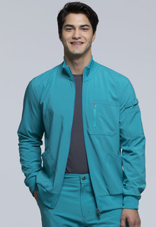Mens Zip Front Jacket-Cherokee Uniforms