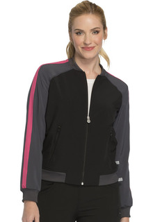 DEAL - Infinity Color Block Jacket - Antimicrobial-Cherokee Medical