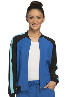 Zip Front Warm-up Jacket-