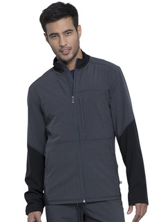 Infinity Men's Antimicrobial Zip Front Jacket-Cherokee Medical