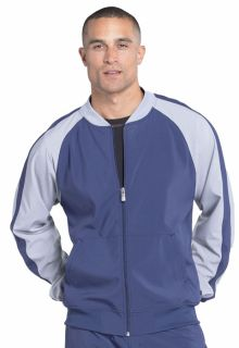 Infinity Mens Colorblock Zip Up Warm-Up Jacket - CK330A