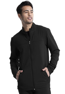 CK332A Mens Zip Front Jacket-Cherokee Medical