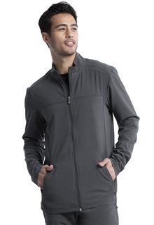 Infinity NEW Men's Zip Front Jacket - Antimicrobial-Cherokee Medical