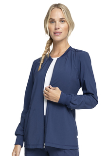 CK370A Zip Front Jacket-Cherokee Medical