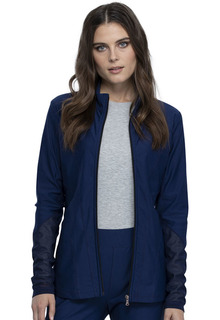 CK390 Zip Front Jacket-Cherokee Medical