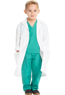 "Project Lab 26"" Kids Lab Coat-Cherokee Medical"