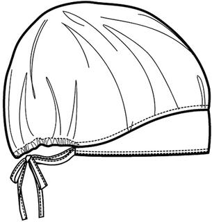 CK501 Unisex Bouffant Scrub Hat-Cherokee Medical