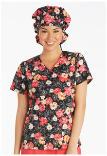Cherokee Unisex Adjustable Bouffant Scrub Hat-Cherokee Medical