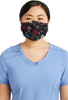 Adult Reversible Pleated Face Covering-